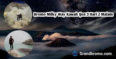 bromo milky way kawah ijen 3 hari 2 malam