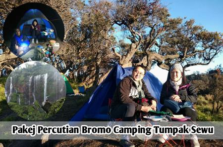 Pakej Percutian Bromo camping Tumpak Sewu