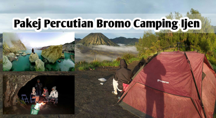 Pakej Percutian Bromo Camping Ijen